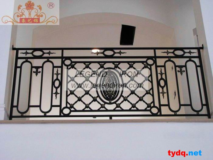 铁艺栏杆围墙图片素材 效果图 设计图