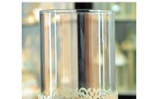 浪漫之行——镂空铁艺玻璃烛台