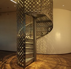 新款高清铁艺楼梯图片 (28图)