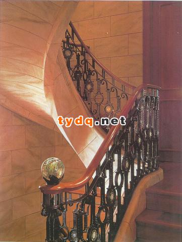 木楼梯扶手安装步骤 求混凝土楼梯安装实木栏杆扶手