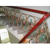 供应北京安装铁艺楼梯扶手 铸铁楼梯 豪华型楼梯扶手