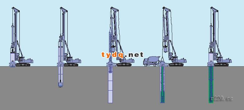 旋挖钻机成孔灌注桩施工组织设计1