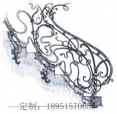 铁艺栏杆设计图纸 施工图纸 (9图)
