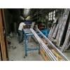 江门合兴喷涂厂两工位全自动冲孔机,锌钢护栏冲孔机