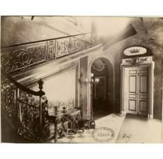1900年镜头下的铁艺楼梯