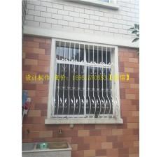 别墅铁艺窗户效果图 (25图)