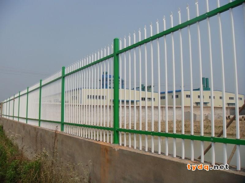 2横杆围墙护栏