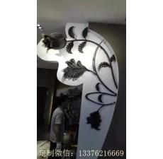 窗式铁艺屏风装饰