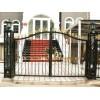 北京通州安装小区大门、小别墅大门、欧式铁艺