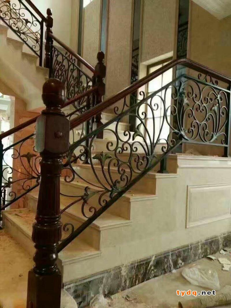 铁艺楼梯扶手安装5大步骤