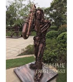 """""""牛""""大师的铁艺工艺品 (23图)"""