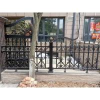 商丘铝艺护栏庭院围墙栏杆厂家定制批发