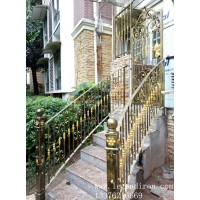 铁艺护栏楼梯扶手【无锡加工】