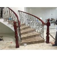 小区铁艺楼梯栏杆加工厂家【无锡】