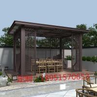 中式庭院凉亭
